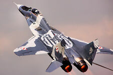 "24"" x 36"" Poster MIG29 Military Fighter Jet"