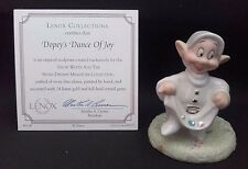 LENOX Disney, Snow White & 7 Dwarfs Figure - Dopey's Dance of Joy. Boxed NEW!