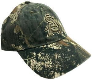 NCAA Mossy Oak Arizona ASU Sun Devils Embroidered Camo Strap-Back Outdoor Hat