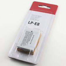 LP-E8 LP E8 Camera Battery For Canon kiss X4 X5 X6i X7i Rebel T2i T3i T4i T5i