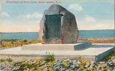 A View of the Monument at Cow Cove, Block Island Ri