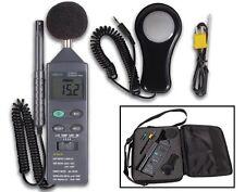 Velleman DVM401 DIGITAL ENVIRONMENT METER: °F/dB/LUX/HUM