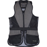 Jack Pyke Skeet Vest Sporting Clay Pigeon Shooting Mesh Hunting Black Green UK