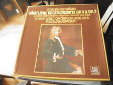 Händel -  Orgekonzerte OP.4/7 - H.Tachezi / N. Harnoncourt - 3 LP telefunken
