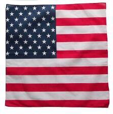 Bandana USA AMERICAIN 55x55cm DRAPEAU PAVILLON POLYESTER DEGUISEMENT AMERIQUE LG
