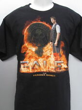 "NEW 2012 THE HUNGER GAMES ""DISTRICT *12* GALE SUPER COOL GRAPHIC T-SHIRT L NEW"