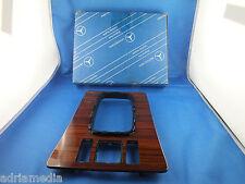 Original Mercedes Abdeckung Holzabdeckung Verkleidung Mittelkonsole W201 190 3Of