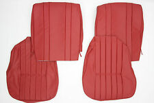 PORSCHE 356 A T1 COUPE OR CABRIOLET FRONT WIDE BACK SEAT COVER SET VINYL