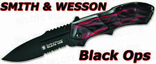 Smith & Wesson Black Ops 3 Assisted RED Serr SWBLOP3RS