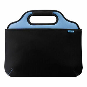 "Asus O2xygen 10"" Black Blue Laptop Notebook Netbook Tablet Soft Bag Case Zipper"