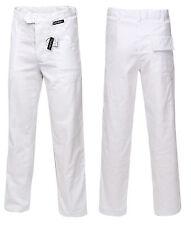 Bundhose Weiß Arbeitshose Malerhose Labor Berufskleidung 100% Baumwolle 280G Öko