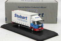 Atlas 1:76 Eddie Stobart Rail Man 4 Wheel Box Van Sammy Shammy F1521 Diecast Car