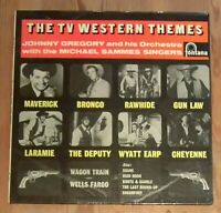 Johnny Gregory And His Orchestra  ‎– The TV Western Themes Vinyl LP Album 33rpm