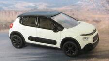 2018 CITROEN C3 1:64 (White/Black) Norev MIP Diecast Passenger Car