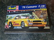 Revell 1/24 '79 Camaro Z-28 3 'n 1 Kit Muscle Car Great Condition Very Rare