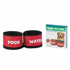 Travel Pet Bowl,  Collapsible & Foldable,  Food & Water  FINELIFE