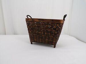 Decorative Bamboo Basket