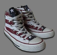 CONVERSE CHUCK TAYLOR..UK 4 / EUR 36.5..STARS AND BARS HI TOPS M8437 TRAINERS