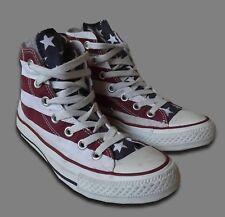 Converse Chuck Taylor... UK 4/EUR 36.5... Stars and Bars Hi Tops Scarpe da ginnastica M8437