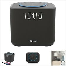 iHome iAV2B Docking Station Amazon Echo Dot Speaker System and Clock