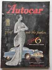 AUTOCAR Autocar, Sept 11, 1953, Austin Healy Hundred, Road Test, Mercedes 1951 1