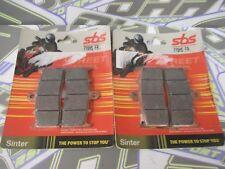SBS Street Excel Sinter HH Front Brake Pads for BMW K1200R K1200 R 2005-2008
