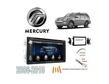 2006-2010 MERCURY MOUNTAINEER DDIN STEREO KIT, USB TOUCHSCREEN BLUETOOTH DVD