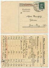 41572 - Postkarte - Kilian Cramer Holzwarenfabrik - Großbreitenbach 14.7.1928