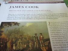 Historia de Europa 1500-1789 personajes clave James Cook bandoleros & descubridor