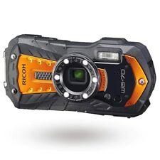 RICOH WG-70 Digital Camera Orange 16MP 5x Optical Zoom Lens Waterproof