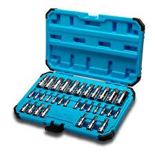 Capri Tools Master Hex Bit Socket Set, Metric and SAE, Advanced Series, 32-Piece