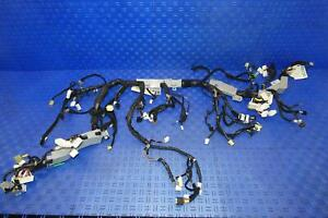 2014 HYUNDAI GENESIS DASHBOARD WIRING HARNESS SEDAN 911283M140 OEM