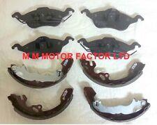 Ford Focus Mk1 1.4, 1.6 & 1.8 TDDi/TDCi  Front Brake Pads & Rear Brake Shoe Set
