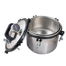 FDA 8L Steam Autoclave Sterilizer sterilization Dental Equipment A quality safe