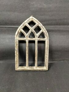 Wooden Hand Crafted White Painted Unique Design Wall Hanging Frame Home Decor