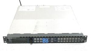 Leitch Harris X75HD-AV-2PS Up/Dn/Cross Converter Frame Sync TT SNMP D1 D2 Dolby