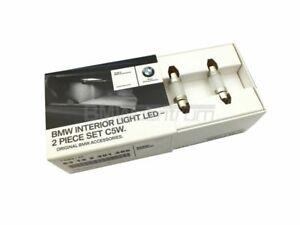 BMW Genuine LED Interior Light In Car Lamp Bulb Bulbs Set of 2 C5W 63122351265