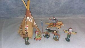 Elastolin Indians