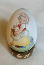 Anri 1984 Annual Egg, seventh in series by Ferrandiz, style 624390