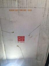 Home Reading Light Floor Lamp - Silver