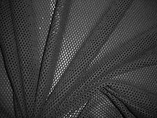 1 Lfm Stoff Netzgitter 2,49€/m² schwarz 150cm breit N3