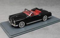 Neo Models Facel Vega FV2c Convertible in Black 1956 43409 1/43 NEW