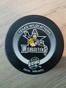 Texas Wildcatters ECHL Official Game Puck 2008