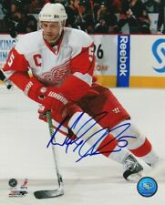 NICKLAS LIDSTROM SIGNED DETROIT RED WINGS 8x10 PHOTO #3 NICK Autograph