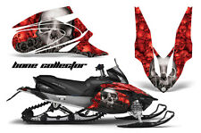 AMR Racing Sled Wrap Yamaha Apex Snowmobile Graphics Kit 06-10 BONE COLLECTOR RD
