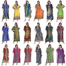 10 Pc Wholesale Lot Assorted Women Long Kaftan Dashiki One Size Plus Maxi Gown