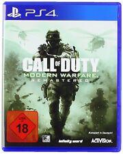PS4 Spiel  Call of Duty: Modern Warfare Remastered NEUWARE