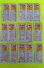 Lot 15 Sunscreen Lotion Packets First Aid Outdoor Survival Prepper Emergency