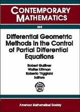 Differential Geometric Methods in the Control of Partial Differential -ExLibrary