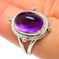 Amethyst 925 Sterling Silver Ring Size 7.75 Ana Co Jewelry R49348F